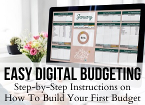 Easy Digital Budgeting | Easy Budget