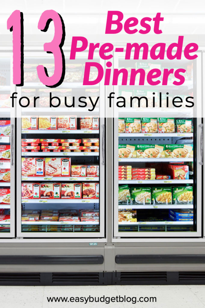 Best pre-made dinners from the grocery store