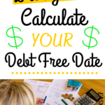money and debt free pin image