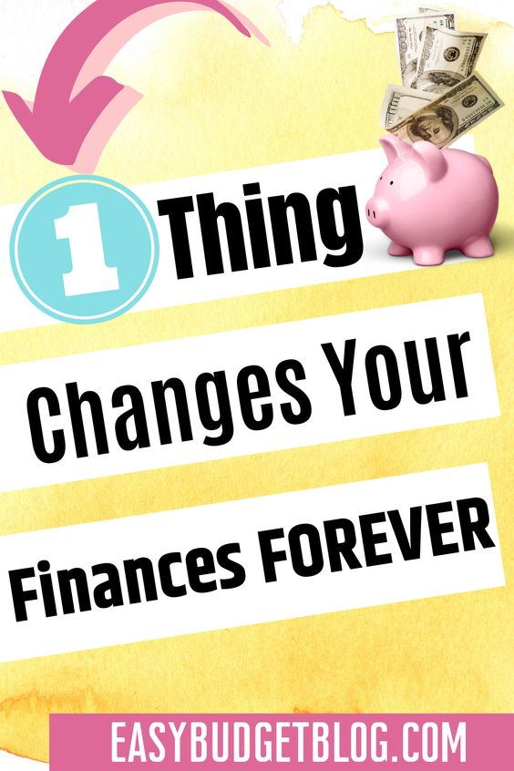 one thing will change your financial future pin image