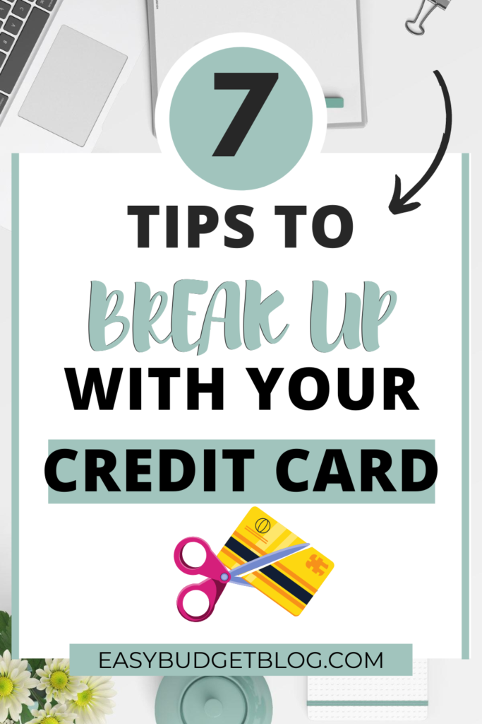 break up with credit card pin image
