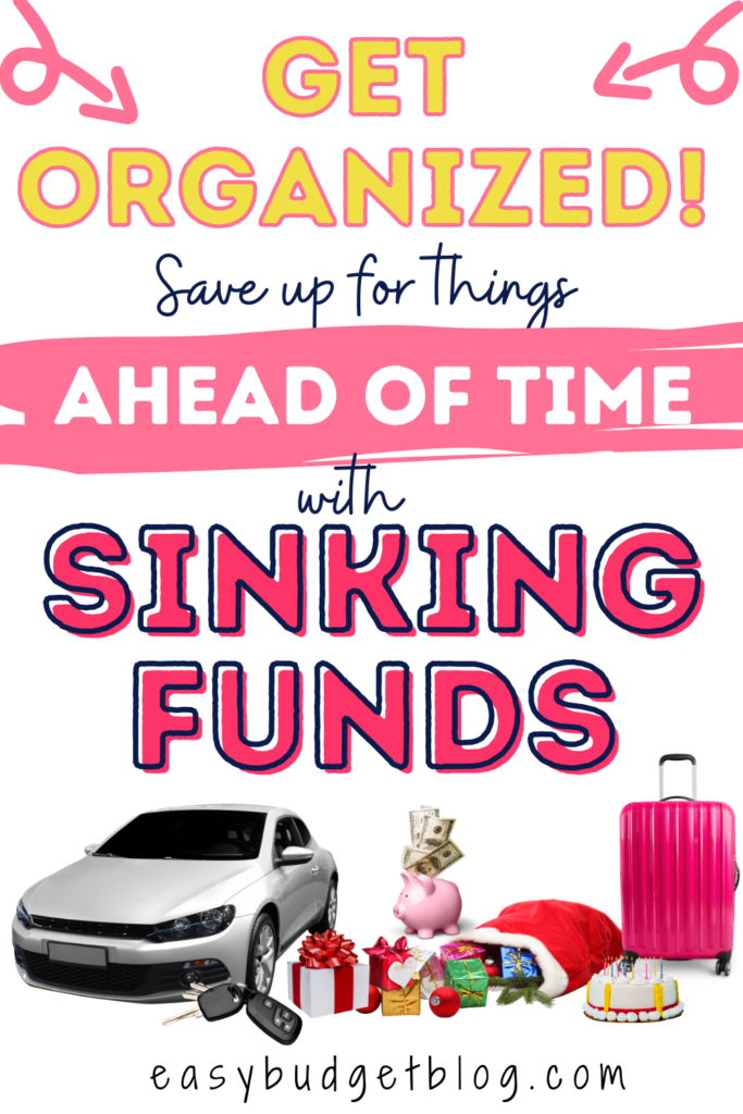 sinking funds pin image