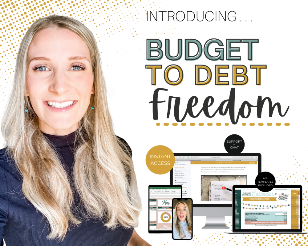 Budget to Debt Freedom Course